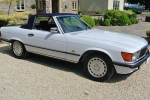 1987 Mercedes SL500 - R107 - Pristine Condition - FSH - Hard/Soft Top
