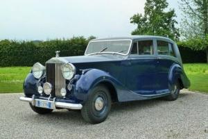 "Rolls Royce Silver Wraith 1949 Limousine by Hooper ""NO RESERVE"""