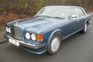 Bentley Turbo R 1985 6.8 V8 4 Door Saloon in Cobolt Blue**FULL.SERVICE.HISTORY** Photo