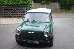 rare smooth roof mini van 1965 Photo