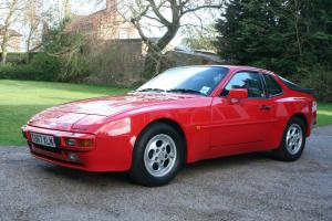 1989G PORSCHE 944 2.7 LUX GUARDS RED GUARANTEED 53,000 MILES COMPRHENSIVE HISTOR