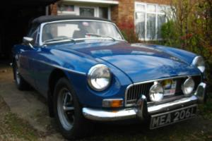 MGB Roadster 1972 Tax Free