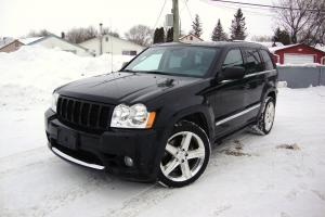 Jeep : Grand Cherokee SRT8 NAV CLEAN HISTORY RARE LOW MILES BLACK