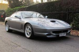 2002 Y FERRARI 550 5.5 MARANELLO 2D 437 BHP