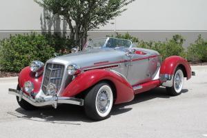 1935 Auburn Boattail Speedster Replica