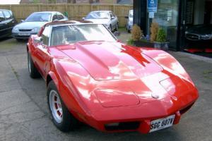 1976 Chevrolet Corvette Red Petrol Automatic Left Hand Drive
