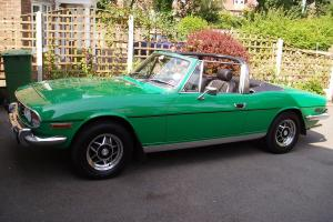 Triumph Stag 1977 Mk2 Auto. Only 25,000 miles from new!!!!