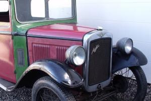 1934 Austin 7 RP box saloon restoration project - VSCC eligible - Seven Photo