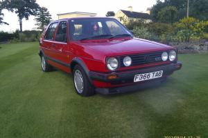 VW Golf GTI Mk2 5 door One family from new 61,000 miles with all paperwork