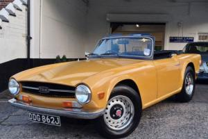 1971 Triumph TR6 Pi Roadster - Original UK Car - 74,000 miles from new!