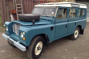 Land rover 109 station wagon ,tax exempt,restored on a *galvanised chassis*