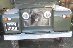 ***1964 LAND ROVER SERIES 2a FULLY RESTORED, WITH LPG CONVERSION**