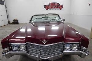 Cadillac : DeVille RunsDrives Great Body&Interior Good Beach Runner
