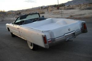 Cadillac : Eldorado 2 door convertible