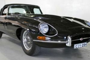 1968 RHD E type Jaguar Roadster series 1 1/2