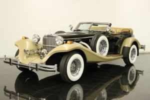 1982 Excalibur Series IV Phaeton 5.0 Liter V8 Automatic AC PW PS PB Leather