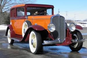 1931 Oakland. Pontiac Buick LaSalle Cadillac family of GM cars. Flathead V-8