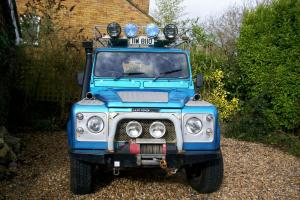 LANDROVER DEFENDER 110. 1984. LWB. 200 TDI CONVERTED TO EXPEDITION SPEC VEHICLE