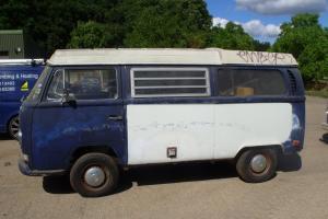 1971 Westfalia VW Bay window poptop bus