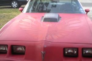 Pontiac : Trans Am Red