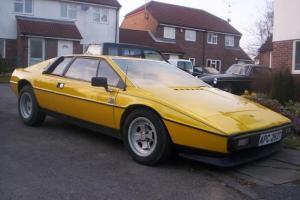 HIGHLY COLLECTABLE LOTUS ESPRIT S2 1978 Photo