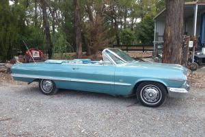 1963 Chevrolet Impala SS Convertible in Narre Warren North, VIC