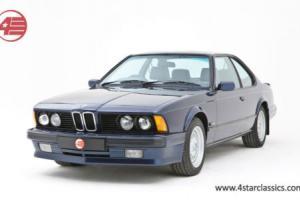 BMW E24 635 CSi Highline 6 series 1989 FSH