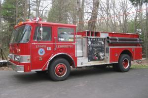 1985 Pierce-Arrow Pumper Fire Truck