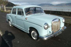 MERCEDES PONTON 180 DB 1962 ONLY 32K MILES STUNNING AND VERY RARE