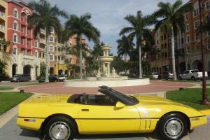 Chevrolet : Corvette PACECAR