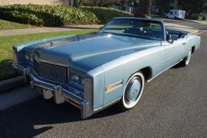 Cadillac : Eldorado CONVERTIBLE WITH 38K ORIGINAL MILES! Photo