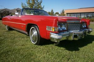 1974 Cadillac Eldorado Convertible in Footscray, VIC