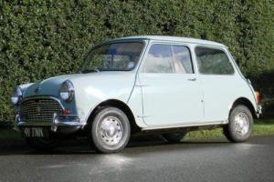 1963 Austin Mini De Luxe
