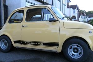 1972 CLASSIC FIAT 500 ABARTH FEATURES 695