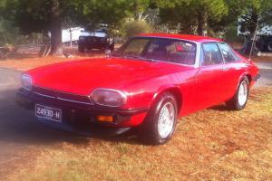 Jaguar XJS 1977 Coupe RED 350 Chev Turbo 400 Auto Full History Engineered in Pyalong, VIC