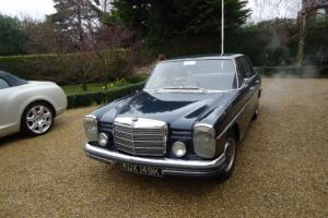 1972 Mercedes.Benz 250 automatic 4 door saloon in Dark Blue A real eyecatcher