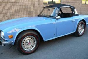 1975 TRIUMPH TR6 STUNNING RESTORATION PIECE OF JEWELRY THE PEBBLE BEACH QUALITY!