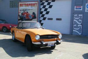 1976 Triumph Tr6 Convertible - Completely Mechanically Restored