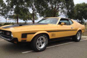 Mach 1 Mustang Q Code Cobra JET Photo
