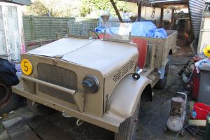 1940 Bedford MW Wartime 15cwt Army Lorry