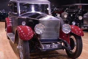 1928 Rolls Royce 20hp Windovers Weyman Saloon.