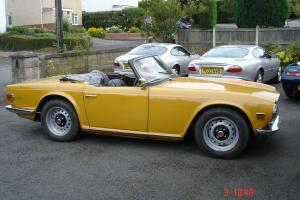 1972 Triumph TR6 TAX EXEMPT