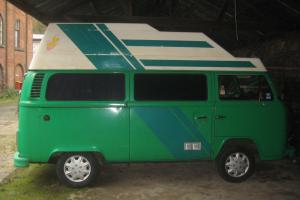 VW T2 Bay Window High Top Camper Photo