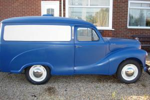 austin A40 devon van (with time warp mileage)