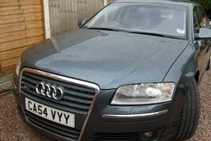 2005 AUDI A8 L QUATTRO AUTO BLUE Photo