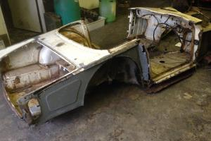 triumph tr4a barn find in need of restoration project Photo