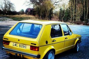 1978 MK1 GOLF LD SERIES 1 VW VOLKSWAGEN RARE Photo