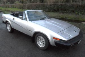 TRIUMPH TR7, 1980 CONVERTIBLE-2.0 LITRE. 45,000 MILES. M.O.T JULY, TAXED APRIL Photo