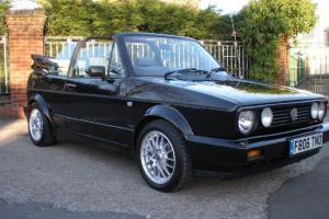 1989 VOLKSWAGEN GOLF CLIPPER CABRIO BLACK
