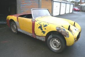 Austin healey frogeye sprite 1959 mk1 for restoration